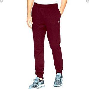 Brand NWT men's Maroon champion sweatpants size small
